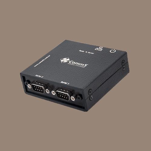Conversor de rede para 2 saídas seriais RS232