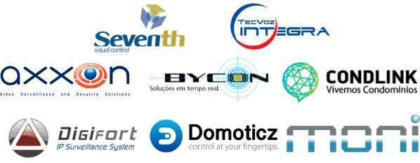 Módulos I/O Comm5 são homologados com Digifort, Seventh, D-Guard, Situator, Axxon, Bycon, Condlink, Tecvoz Integra, Domoticz, Moni e outros